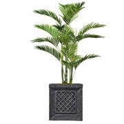 """Vintage Home 54"""" Tall Palm Tree with Burlap Kit and Fiberstone Planter (VHX131215)"""