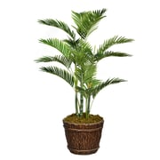 "Vintage Home 56"" Tall Palm Tree with Burlap Kit and Fiberstone Planter (VHX131217)"