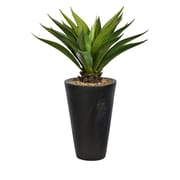 """Vintage Home 48"""" Agave with Fiberstone Planter, Indoor-Outdoor (VHX304)"""