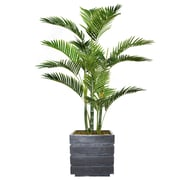 """Vintage Home 54"""" Tall Palm Tree with Burlap Kit and Fiberstone Planter (VHX131204)"""