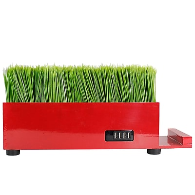 Vintage Home 4 Port Red Baby Grass Charging Station (VHA102456.RED)