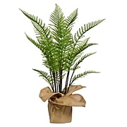 """Vintage Home 42"""" Tall Fern Plant with Burlap Kit (VHX128)"""