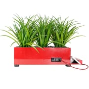 Vintage Home 4 Port Red Grass Charging Station (VHA102457.RED)