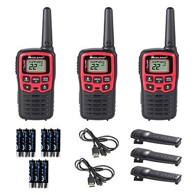 Midland X-Talker Pair of Radio 3 Pack (T31X3VP)