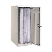 AdirOffice Large Vertical Blueprint Storage Cabinet For Clamps Up To 36-Inches, Gray (620-02)