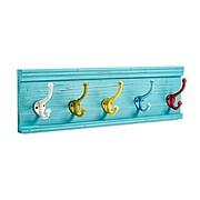 AdirHome Colorful Classroom Wood Mountable Coat Hooks