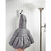 AdirHome Single White Vintage Coat Hook (302-16)