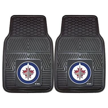 FANMATS Winnipeg Jets 2-pc Vinyl Car Mats 17