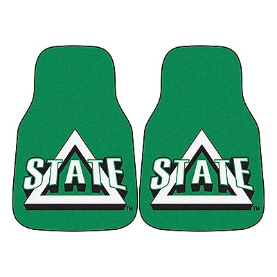 FANMATS Delta State 2-pc Nylon Carpeted Car Mats 17