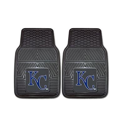 FANMATS Kansas City Royals 2-pc Vinyl Car Mats 17