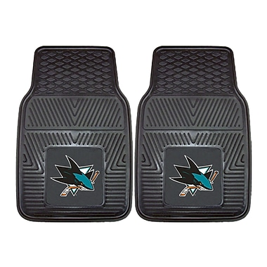 FANMATS San Jose Sharks 2-pc Vinyl Car Mats 17