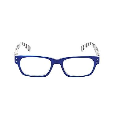 VK Couture +1.25 Strength High Fashion Reading Glasses, Blue (E1309)