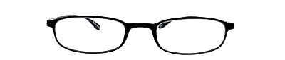Flex 2 +1.25 Strength Flexible Reading Glasses, Black (E5020)
