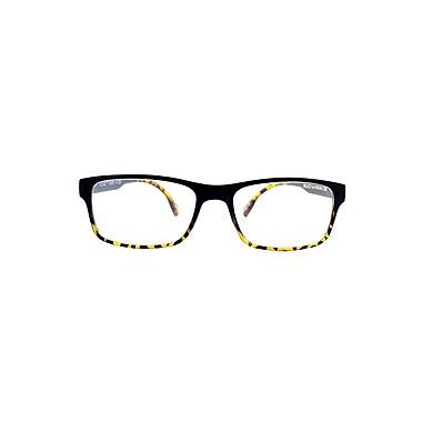 Flex 2 +1.50 Strength Flexible Reading Glasses, Black Demi (E5029)