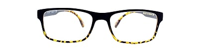 Flex 2 +1.25 Strength Flexible Reading Glasses, Black Demi (E5029)