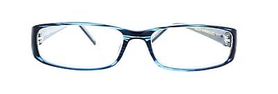 Victoria Klein +2.00 Strength Fashion Reading Glasses, Blue (E7021)