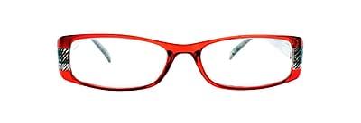 Victoria Klein +2.75 Strength Fashion Reading Glasses, Red (E9072)