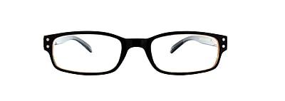 Victoria Klein +3.00 Strength Fashion Reading Glasses, Brown (E9076)