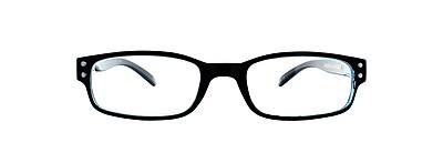 Victoria Klein +2.00 Strength Fashion Reading Glasses, Blue (E9076)
