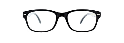 Victoria Klein +1.75 Strength Fashion Reading Glasses, Black (E9078)