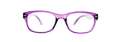 Victoria Klein +3.00 Strength Fashion Reading Glasses, Purple (E9078)