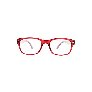 Victoria Klein +2.50 Strength Fashion Reading Glasses, Red (E9078)
