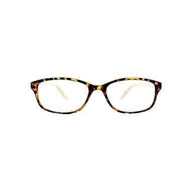 Victoria Klein +2.75 Strength Fashion Reading Glasses, Brown (E9082)