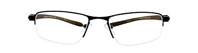 Sportex +1.25 Strength Performance Reading Glasses, Brown (EAR4145)