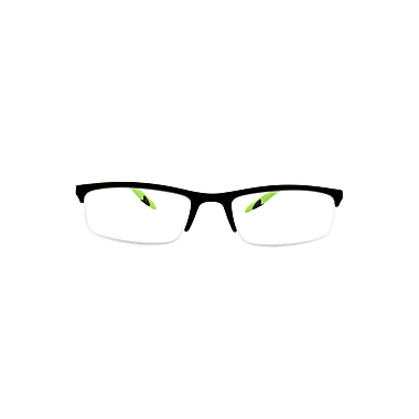 Sportex +2.75 Strength Performance Reading Glasses, Sport Green (EAR4150)