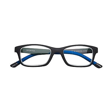 Sportex +2.50 Strength Performance Reading Glasses, Blue (EAR4162)