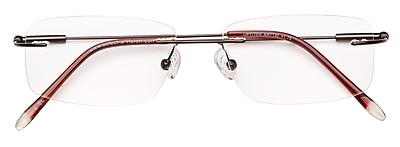 Optitek +3.00 Strength Hi Tech Reading Glasses, Brown (EAR7120)