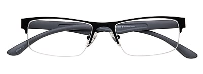 Optitek +1.25 Strength Hi Tech Reading Glasses, Grey (EAR7161)