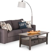 Simpli Home Amherst 44 x 22 x 19 inch Coffee Table in Dark Brown (AXCAMH-001)