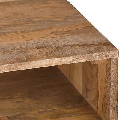 Simpli Home Hunter 55 X 16 Inch Console Sofa Table In Natural Mango