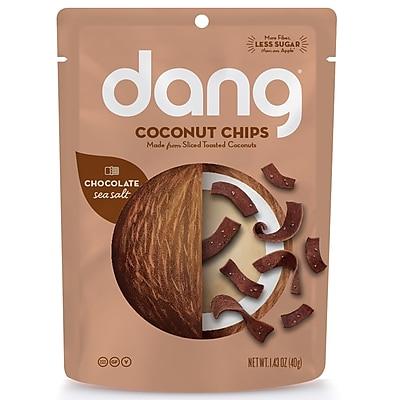 Dang Coconut Chips Chocolate Sea Salt, 1.43oz bag (DGF00305)