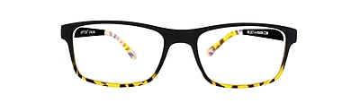 Optitek +3.00 Strength Computer Reading Glasses, Black Demi (E2201) 24286701