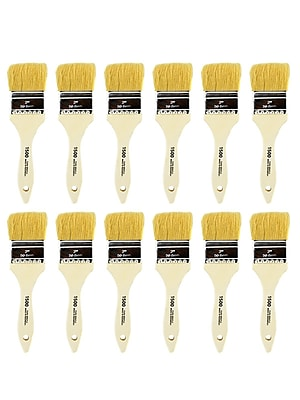 Linzer White Bristle Wash Brush 2 in., Pack of 12 (PK12-1500 2