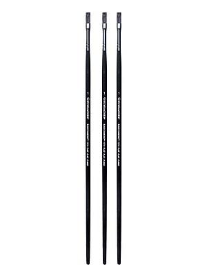 Grumbacher Black Diamond Oil and Acrylic Brushes,