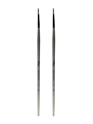 Robert Simmons Titanium Brushes, Long Handle Single Stock 1 Round TT45, Pack of 2 (PK2-225145001)