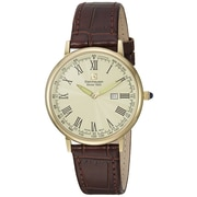 "Steinhausen Classic Men's ""Altdorf"" Swiss Quartz Ultra Thin Leather Band Watch (S0124)"