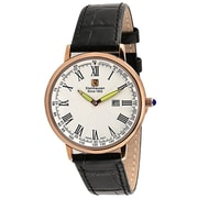 "Steinhausen Classic Men's ""Altdorf"" Swiss Quartz Ultra Thin Leather Band Watch (S0119)"