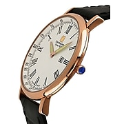 "Steinhausen Classic Men's ""Altdorf"" Swiss Quartz Ultra Thin Leather Band Watch (S0119)"