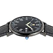 "Steinhausen Classic Men's ""Altdorf"" Swiss Quartz Ultra Thin Leather Band Watch (S0126)"