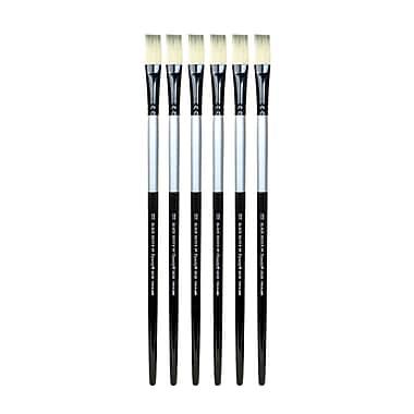 Dynasty Black Silver Flat Long Handle 18, Pack of 6 (PK6-32852)