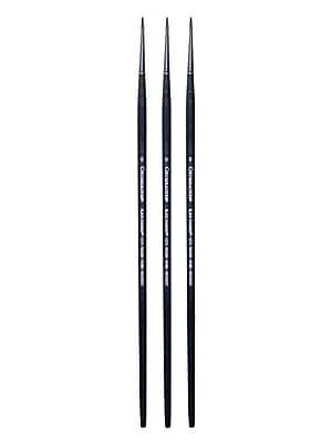 Grumbacher Black Diamond Oil and Acrylic Brushes,