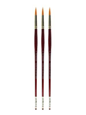Grumbacher Goldenedge Oil and Acrylic Brushes, 5