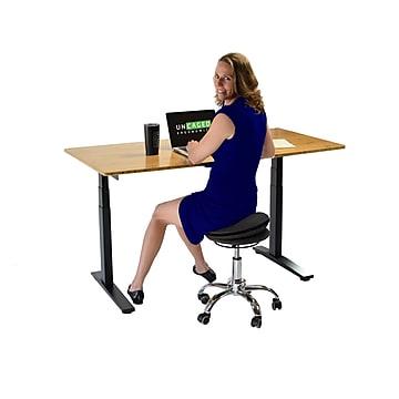 "Uncaged Ergonomics Wobble Stool Air 25.5"" Active Balance Stool Fabric Seat (WSA-b)"