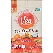 Vea Mini Crunch Bars Thai Coconut 1.7 oz, 8/CT (MOZ05326)