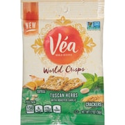 Vea World Crisps Crackers Tuscan Herb with Roasted Garlic 1.2 oz, 8/CT (MOZ05302)