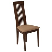Flash Furniture Polyester Dining Chair Walnut (ESCB2411YBHWMB)